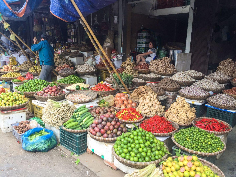 best of hanoi vietnam market food