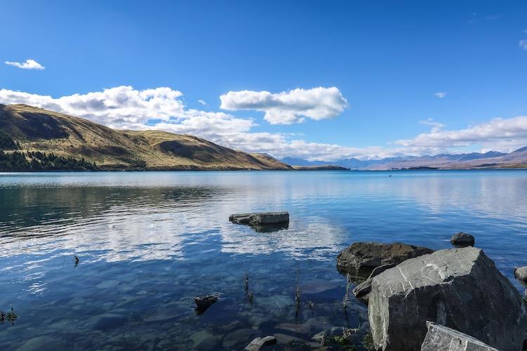 Lake tekapo new zealand south island highlights