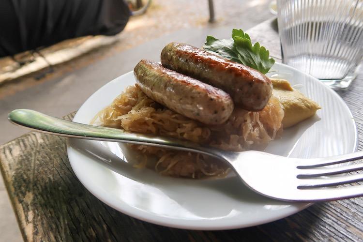 berlin food guide german sausage