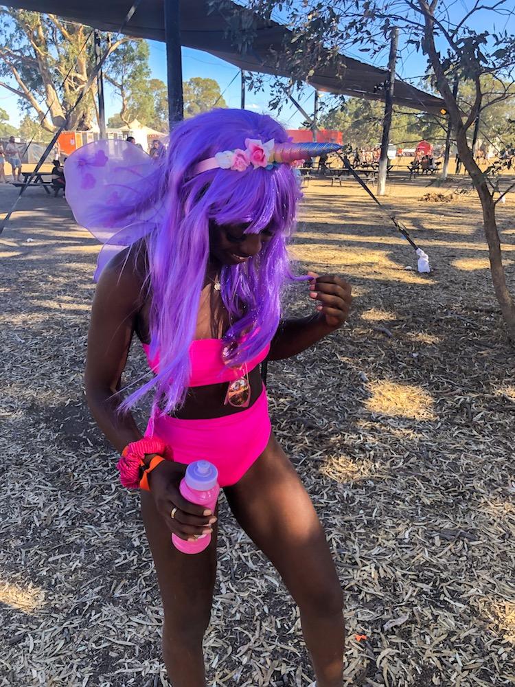 australian music festivals fancy dress unicorn