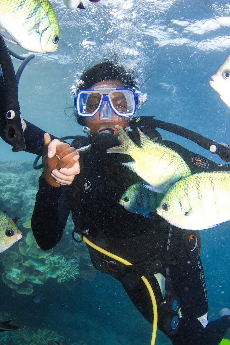 efia diving australia