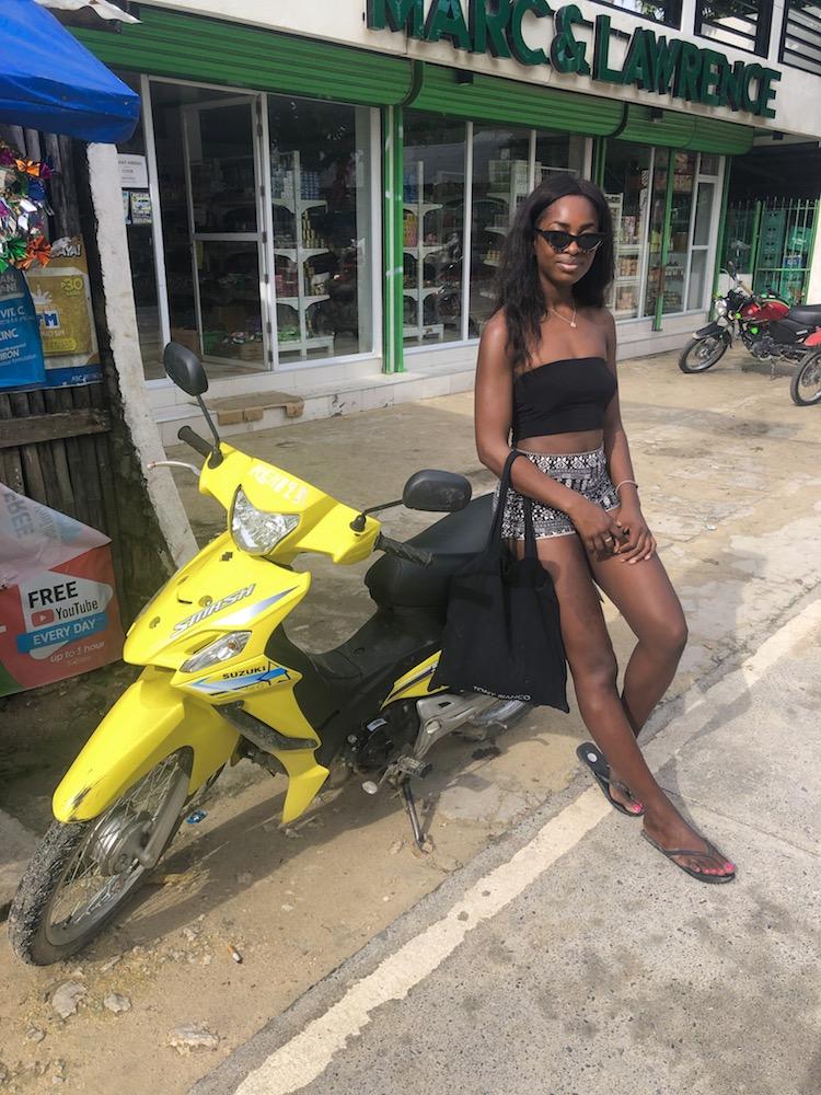 the philippines motorbike