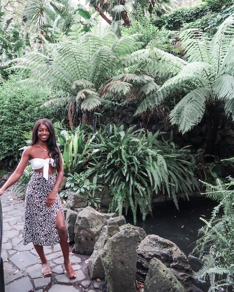 Efia in Melbourne Botanic Gardens