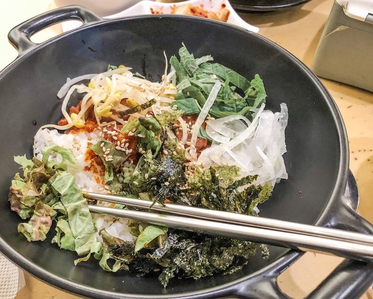 what to eat in Seoul bibimbap